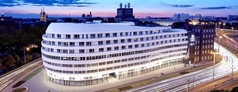 DoubleTree by Hilton Wroclaw, Polen– Außenbereich des Hotels