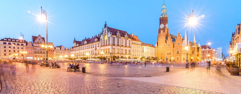 DoubleTree by Hilton Hotel Wroclaw, Polen– Rathausplatz in Breslau