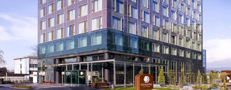 Das moderne Hotel begrüßt Sie im Geschäftsviertel von Zagreb