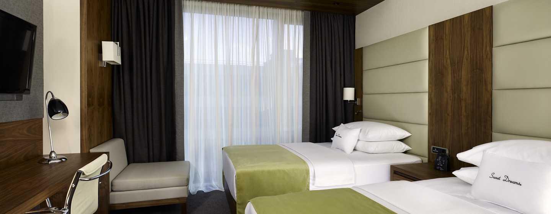 Auf Ihrer Reise zu zweit ist das Zweibettzimmer das Richtige