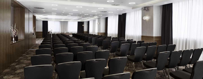 Die modernen Tagungsräume bieten die richtige Umgebung für Ihr Meeting