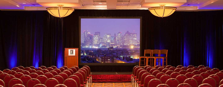 Embassy Suites Boston – at Logan Airport Hotel, Massachusetts, USA– Ballsaal