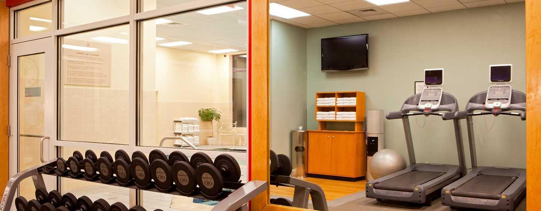 Embassy Suites Boston – at Logan Airport Hotel, Massachusetts, USA– Fitness Center