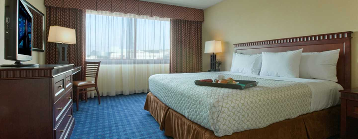 Embassy Suites Boston/Waltham Hotel, Massachusetts, USA – Deluxe Suite mit King-Size-Bett