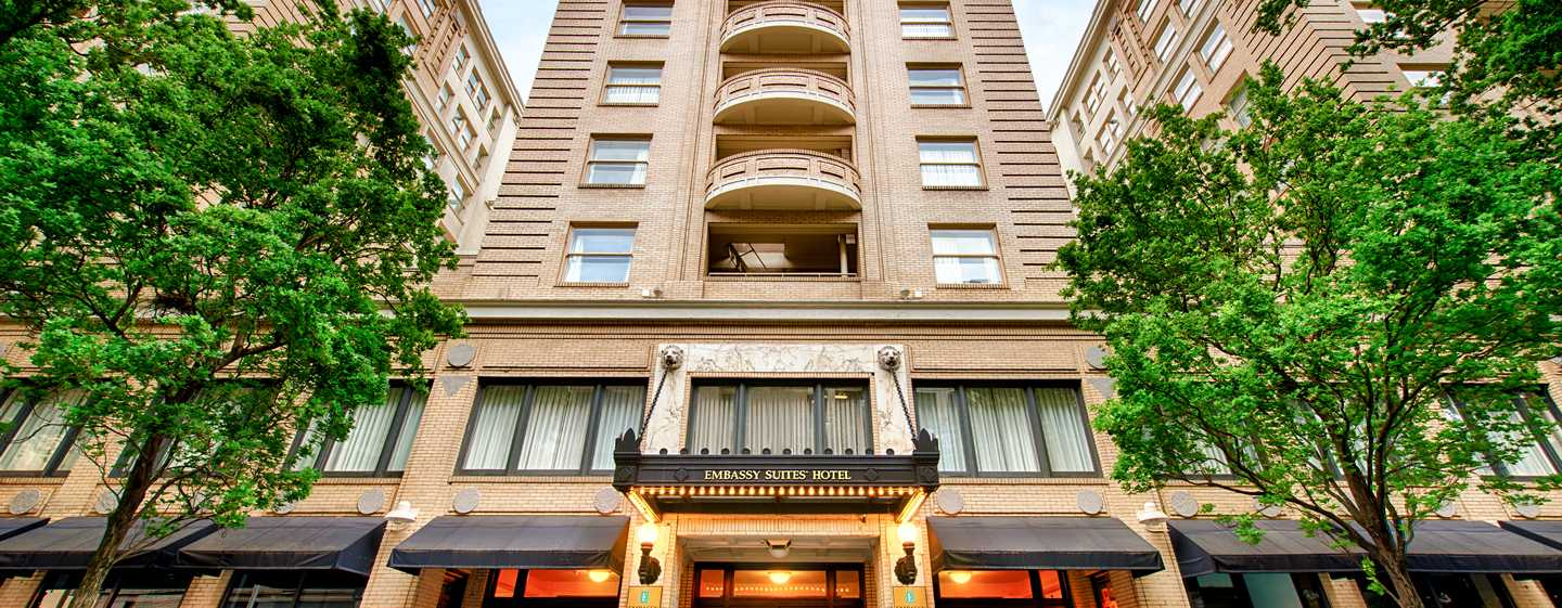 Embassy Suites by Hilton Portland Downtown, Oregon – Hoteleingang