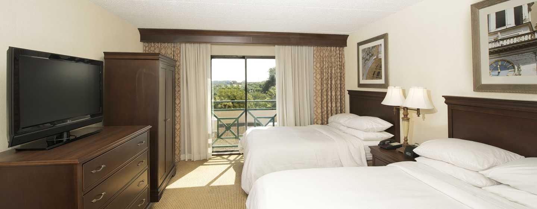 Embassy Suites Philadelphia – Airport Hotel, Pennsylvania, USA– Suite mit zwei Doppelbetten