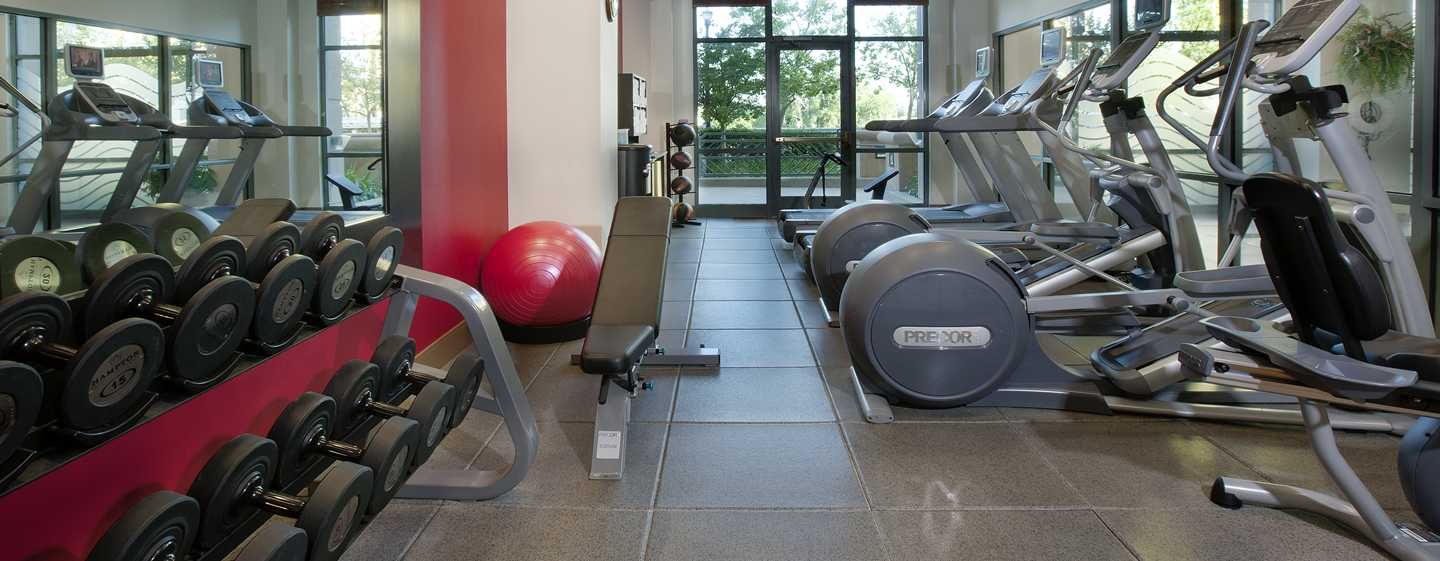 Embassy Suites by Hilton Sacramento Riverfront Promenade – Fitness Center