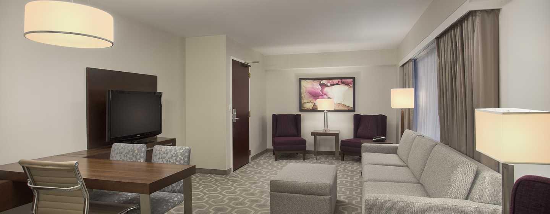 Embassy Suites by Hilton Washington DC Georgetown Hotel, USA– Wohnzimmer der Suite