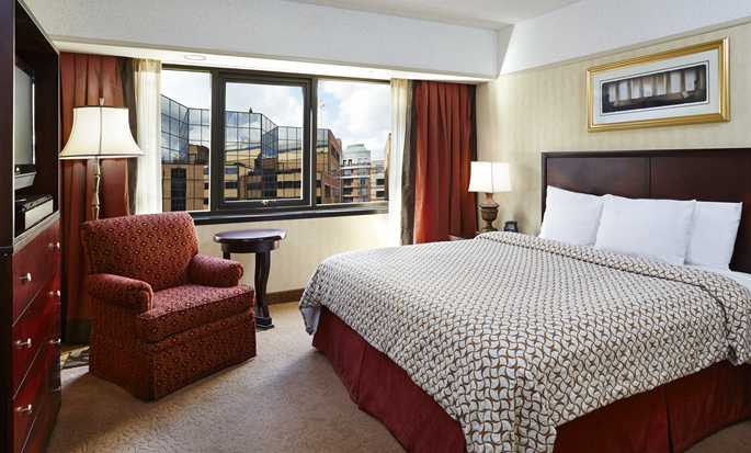 Embassy Suites by Hilton Washington DC Georgetown Hotel, USA – Zimmer mit King-Size-Bett