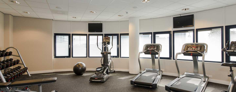 Einem ausgewogenen Workout, steht im Fitness Center des Hotels nichts im Weg