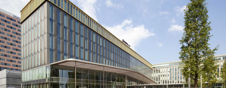 Willkommen im modernen Hotel im Stadtteil Zuidoost in Amsterdam