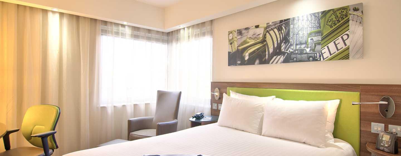 Hampton by Hilton Antwerp Central Station hotel, Belgium - Zimmer
