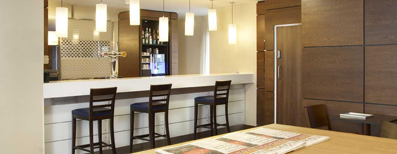 Hampton by Hilton Antwerp Central Station hotel, Belgium - Lobby Lounge