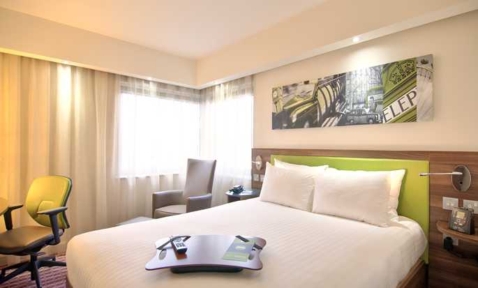 Hampton by Hilton Antwerp Central Station Hotel, Belgien – Zimmer