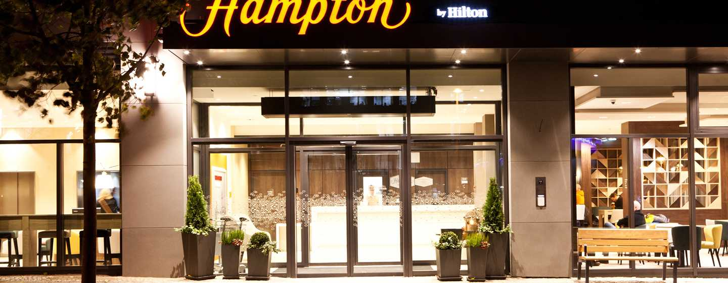 Hampton by Hilton Berlin City East Side Gallery Hotel, Deutschland – Aussenansicht
