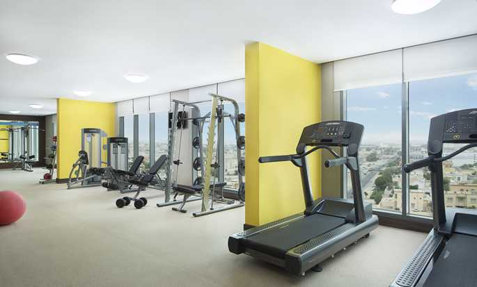Hampton by Hilton Dubai Airport, VAE – Fitnesscenter