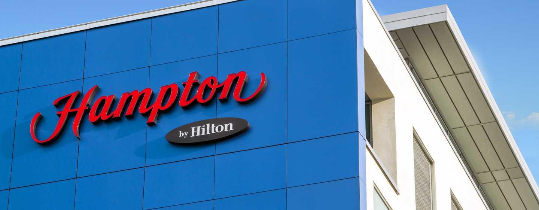 Hampton by Hilton Frankfurt Airport, Deutschland – Außenansicht