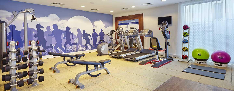 Hampton by Hilton Frankfurt Airport, Deutschland – Fitnesscenter