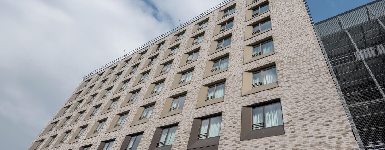 Hampton by Hilton Frankfurt City Centre Messe Hotel, Deutschland– Außenbereich des Hotels