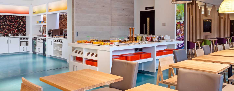 Hampton by Hilton London Waterloo Hotel, Großbritannien – Frühstück