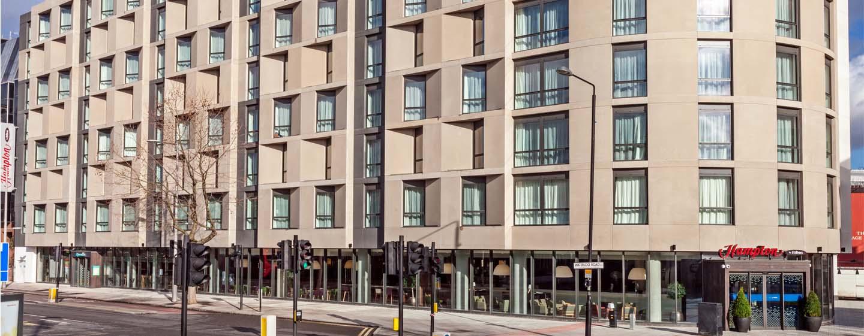 Hampton by Hilton London Waterloo Hotel, Großbritannien – Außenbereich des Waterloo Hotels