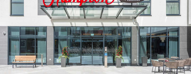 Hampton by Hilton Munich City West Hotel, Deutschland– Hoteleingang