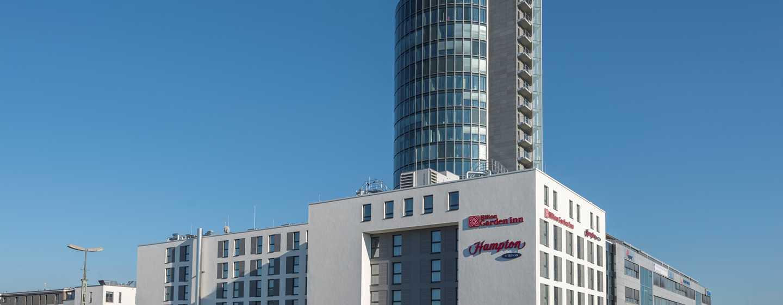 Hampton by Hilton Munich City West Hotel, Deutschland– Außenansicht des Hotels