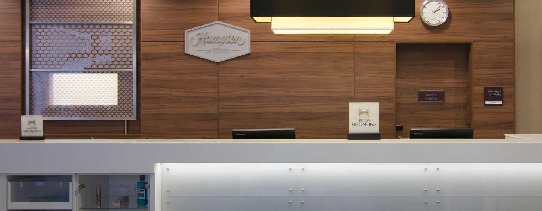 Hampton by Hilton Nuremberg City Centre– Empfang
