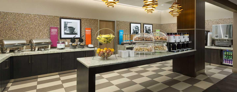 Hampton Inn Manhattan/Times Square Central Hotel, New York, USA– kostenfreies Frühstücksbuffet