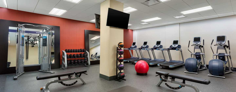 Hampton Inn Manhattan/Times Square Central Hotel, New York, USA– Fitnesscenter