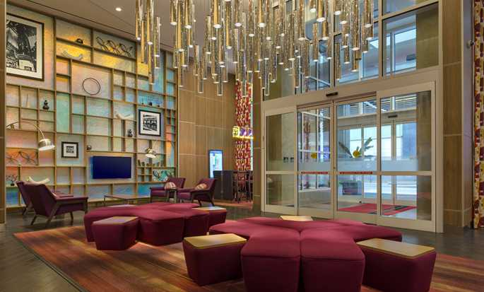 Hampton Inn Manhattan/Times Square Central Hotel, New York, USA – Lobby