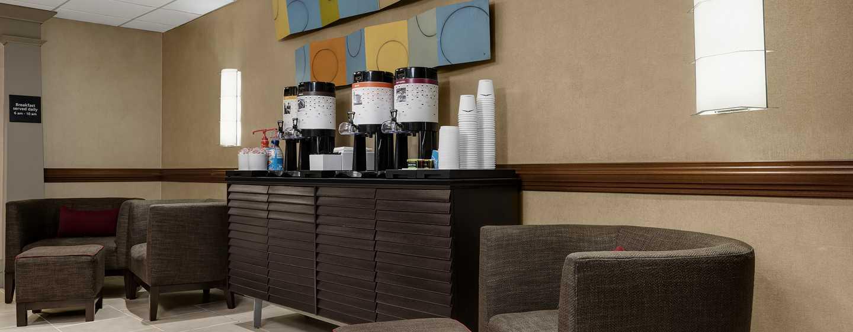 Hampton Inn Manhattan-Times Square North Hotel, New York, USA– Kostenfreier Kaffee und Tee