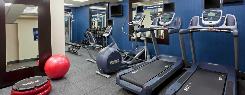 Hampton Inn Manhattan-Times Square North Hotel, New York, USA– Fitnesscenter
