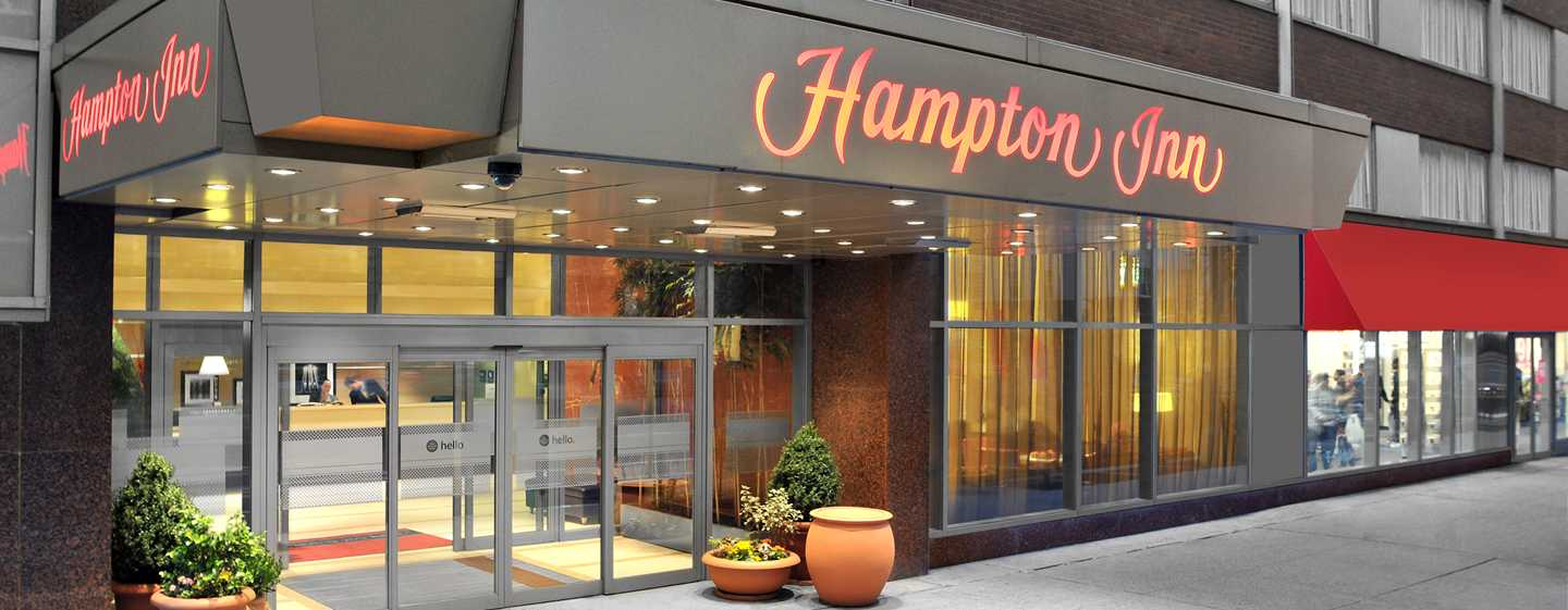 Hampton Inn Manhattan-Times Square North Hotel, New York, USA – Außenbereich des Hotels