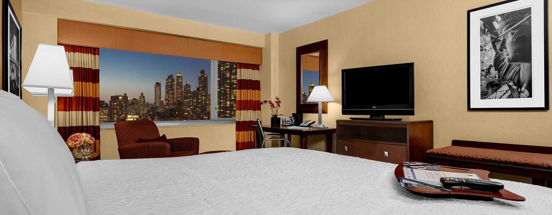 Hampton Inn Manhattan-Times Square North Hotel, New York, USA– Zimmer mit King-Size-Bett