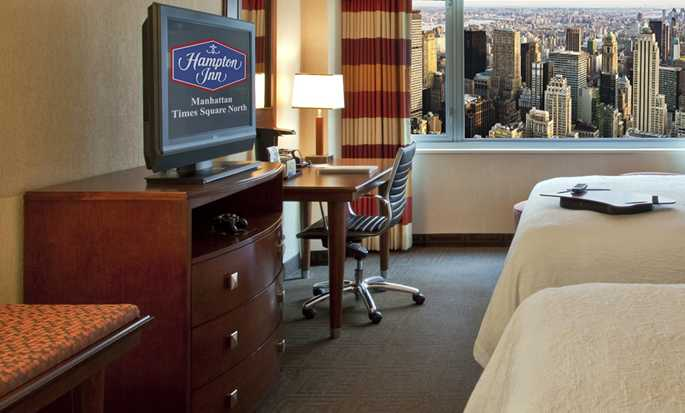 Hampton Inn Manhattan-Times Square North Hotel, USA – Doppelzimmer