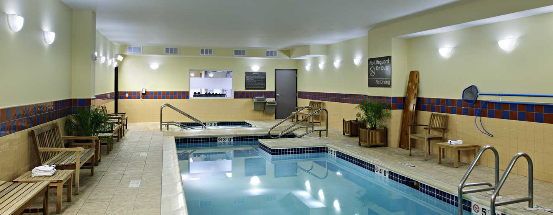 Hampton Inn Philadelphia Center City– Convention Center Hotel– Innenpool