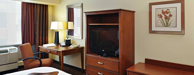 Hampton Inn Philadelphia Center City– Convention Center Hotel– Zimmereinrichtung