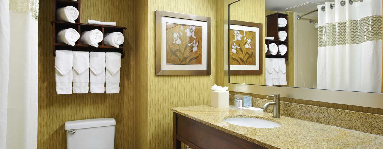 Hampton Inn Philadelphia Center City– Convention Center Hotel– Badezimmer eines Standard Zimmers