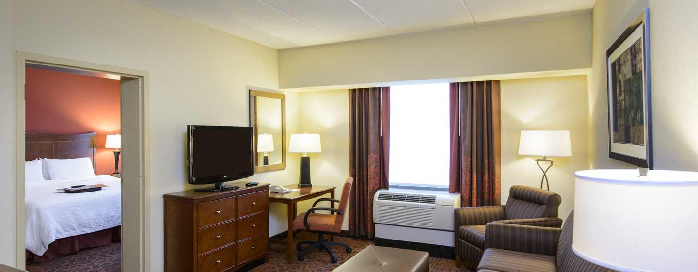 Hampton Inn Philadelphia Center City– Convention Center Hotel– Wohnbereich einer Suite