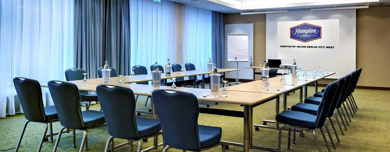 Hampton by Hilton Berlin City West Hotel, Berlin, Deutschland– Meetingraum