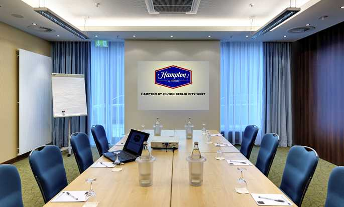 Hampton by Hilton Berlin City West Hotel, Berlin, Deutschland – Meetingraum