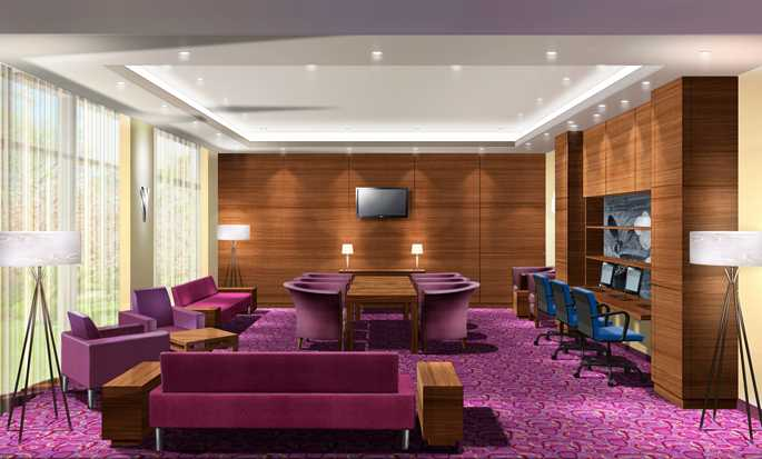 Hampton by Hilton Berlin City West Hotel, Berlin, Deutschland – Businesscenter