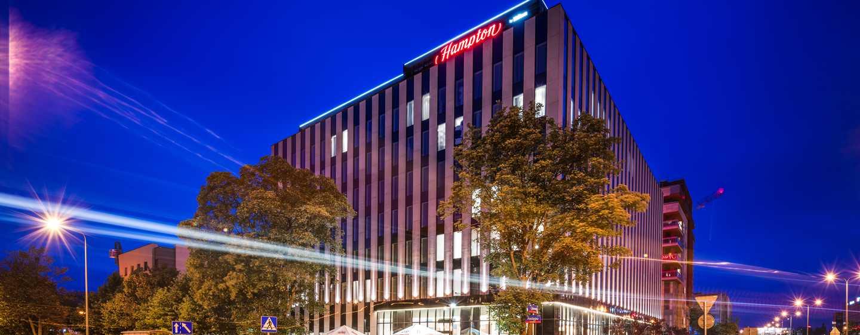 Hampton by Hilton Warsaw Mokotow Hotel, Polen – Außenbereich des Hotels