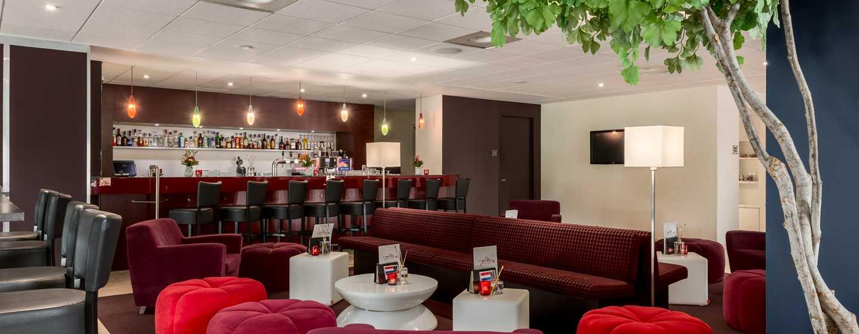 Hilton Garden Inn Leiden, Niederlande– Bar- und Loungebereich
