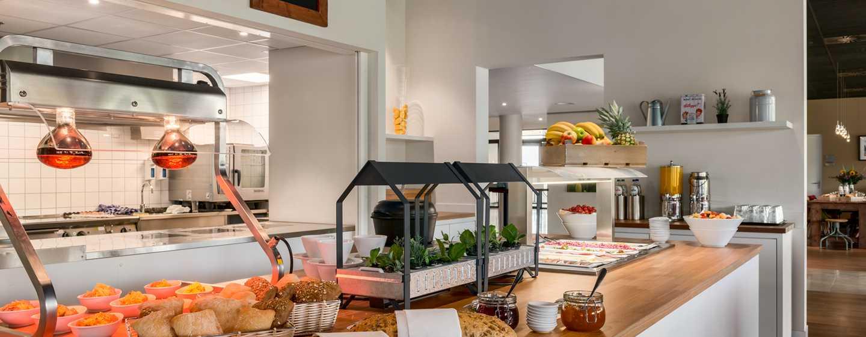 Hilton Garden Inn Leiden, Niederlande– Frühstück