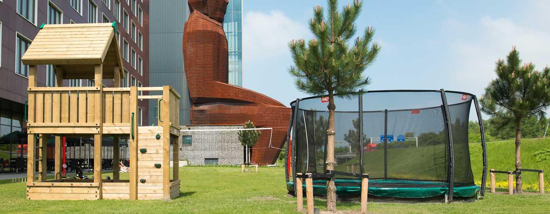 Hilton Garden Inn Leiden, Niederlande– Spielplatz