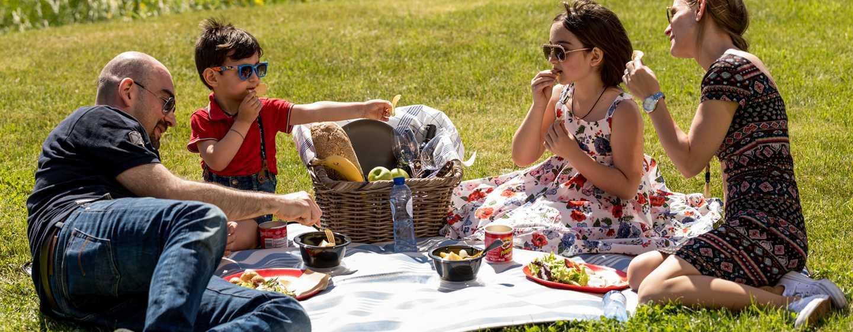 Hilton Garden Inn Leiden, Niederlande– Picknick mit der Familie