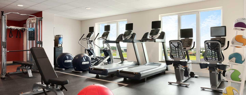 Hilton Garden Inn Leiden, Niederlande– Fitnessraum
