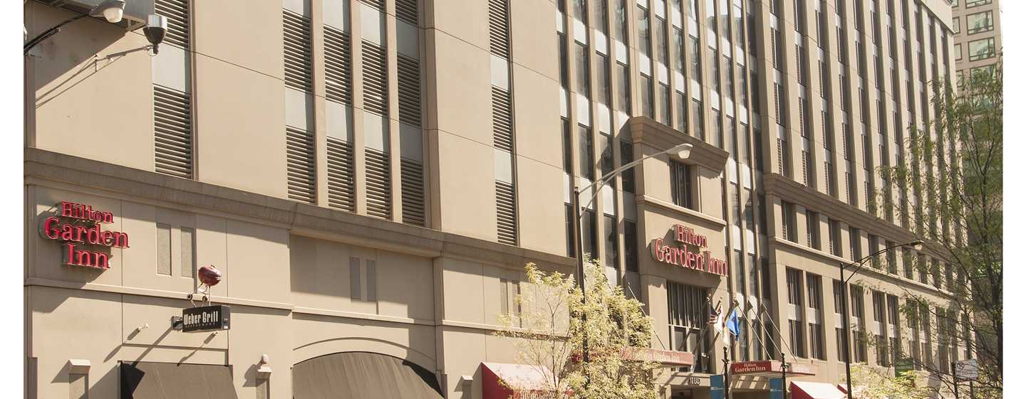 Hilton Garden Inn Chicago Downtown/Magnificent Mile Hotel, USA – Außenbereich
